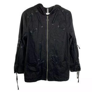 NWT Zara Man Fashion Department Zip Jacket Top XL